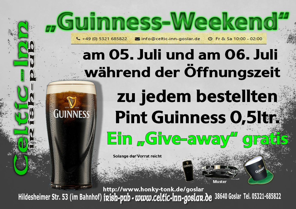 Guinness-Weekend