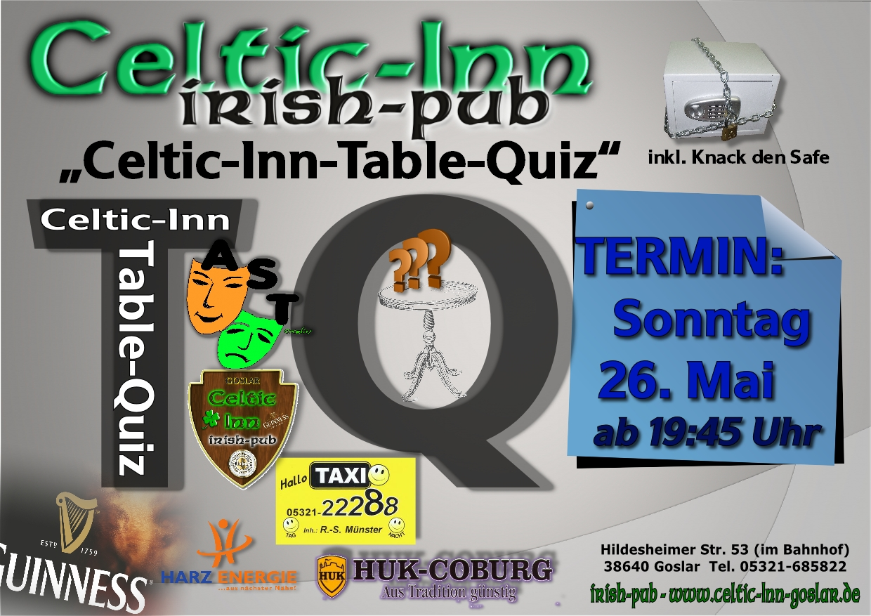 Table Quiz (Mai)