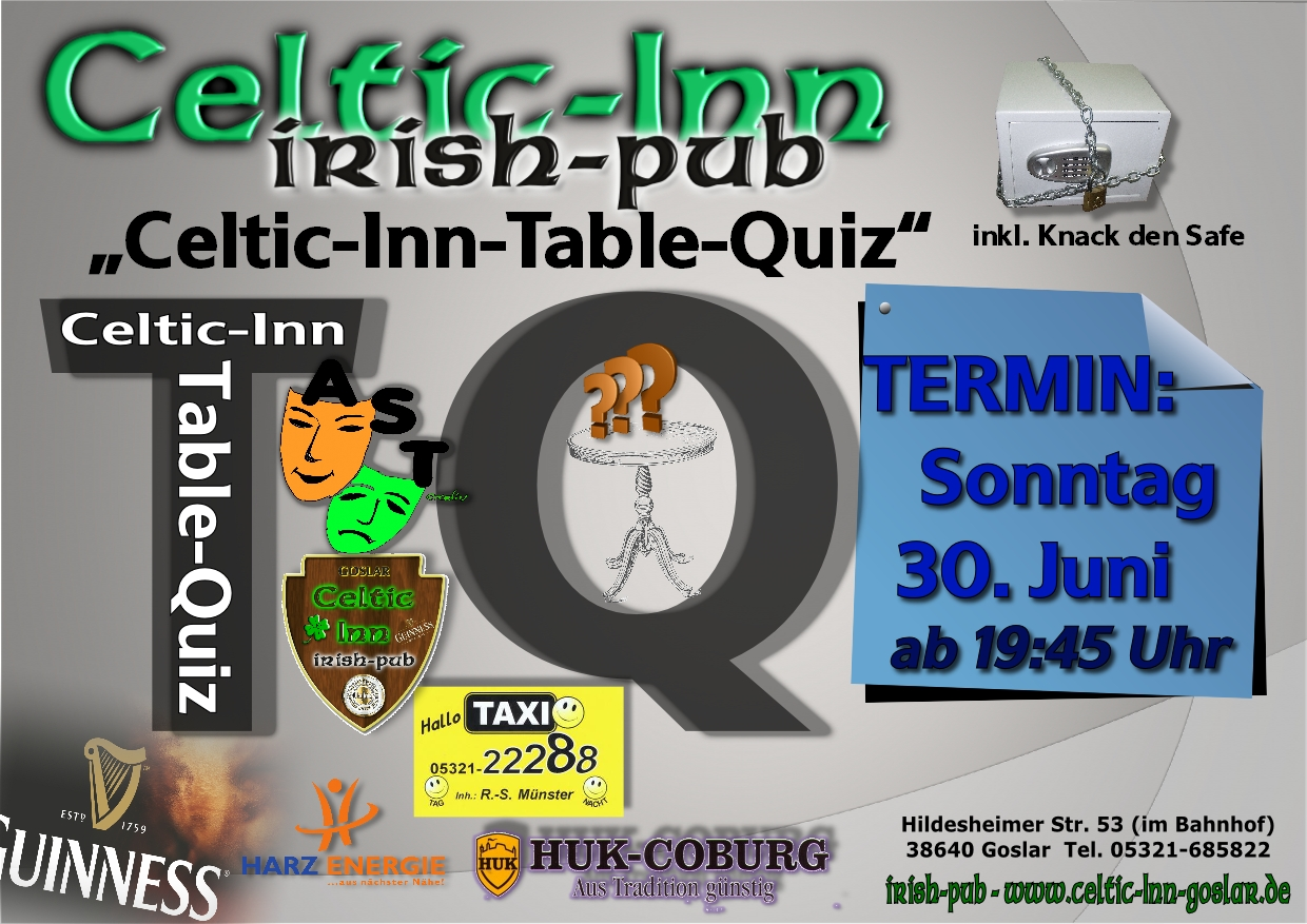 Table Quiz (Juni)